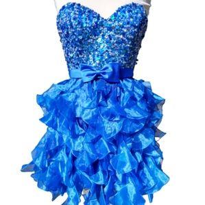 Cocktail Homecoming Prom Sleeveless Mini Dress